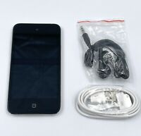 Apple iPod touch 4th Generation Black (16 GB) - Bundle - Works 100% - Engraved