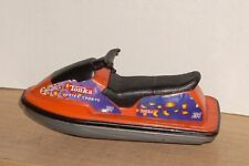 2002 Tonka Water Sports Orange Jet Ski Plastic Toy From Truck & Trailer Set