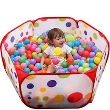 Baby Portable Playpen Kids Ball Pit Playard Safety Infant Crib Yard Outdoor NEW