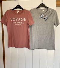 RIVER ISLAND Tshirts x2 Size 6
