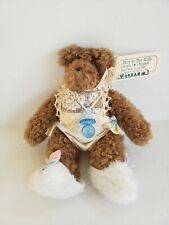 The Hen In The Holly Bear Plush Pacifier (H9)