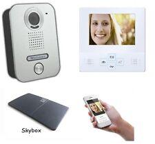 4 Zoll LCD Monitor Türsprechanlage Video Gegensprechanlage WLAN Schnittstelle AP