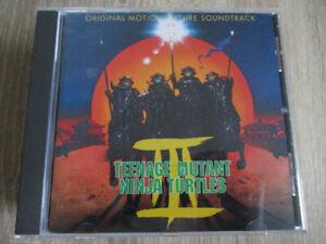 O.S.T. Soundtrack CD Teenage Mutant Ninja Turtles 3 1993 Kino