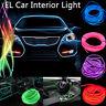 2-5M Auto LED EL Ambientebeleuchtung Innenraumbeleuchtung Lichtleiste Neon Licht
