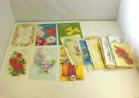 Greeting Cards Lot of 45 Get Well Sender Message Inside Use For Crafting
