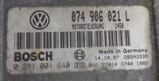 ORI !!! VW T4 ECU 2.5 TDI 102 ACV 074906021L 0281001640 IMMO OFF PLUG AND PLAY