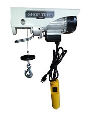 Electric Hoist - 440 lb Single or 880 lb Double Line STF-4488EH by Shop Tuff