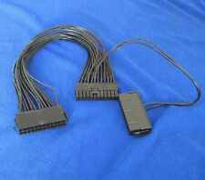 24Pin 20+4pin Secondary Dual PSU ATX Power Supply Adaptor Connector cable 30cm