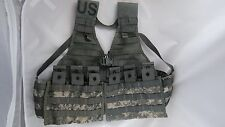 ACU Fighting Load Carrier With 2 Triple Magazine Pouches, MOLLE Tactical Vest