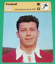 FOOTBALL STADE DE REIMS JUST FONTAINE BUTEUR COUPE DU MONDE JUSTO