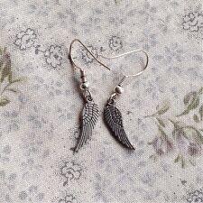 earrings Tiny Angels Wings Drops Cute Mothers Day Gift SALE Handmade Tibetan
