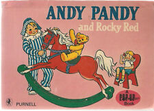 ANDY PANDY AND ROCKY RED a pop-up book (BBC) Purnell British HC