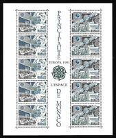 Timbres Monaco Bloc Feuillet 1991 EUROPA N°52 Neuf Sans Charnière