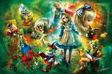 APPLEONE Jigsaw Puzzle 1000-789 Alice In Wonderland (1000 Pieces)