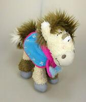 Galupy Pferd mit Schal und Pferdedecke Plüsch Figur ca. 20 cm Diddl