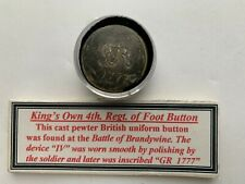 1777 dated button from Battle of Brandywine