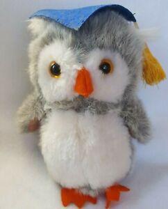 Hallmark 1984 Vintage Plush OWL, Graduation, Very good!