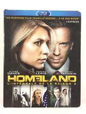 Homeland Saison 2 Coffret Blu Ray