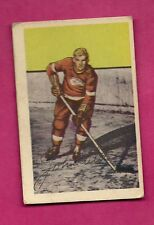 1952-53 PARKHURST # 89 RED WINGS JOHN WILSON ROOKIE VG CARD (INV# 9665)
