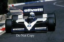 Elio De Angelis Brabham BT55 Monaco Grand Prix 1986 Photograph 1