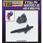 YYW-14 Upgrade Kit For WFC Buzzworthy Bumblebee Series Worlds Collide Fangry