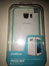 Crystal Mixx protective Clear case for Samsung Galaxy S6 by Verus Open box Teal