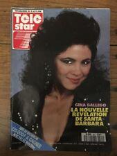 TELE STAR French n 661 Mai 1989 - Gina GALLEGO Santa Barbara Rock HUDSON M TORR