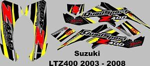 suzuki ltz 2003-2008  graphics kit