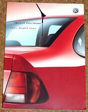 2000-01 VW POLO SALOON Sales Brochure - E S SE, 1.4, 1.6, SDI, TDI 90, TDI 110