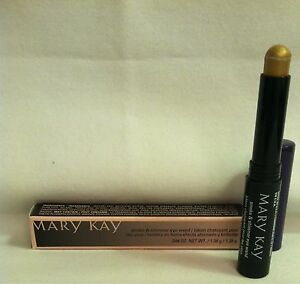 DISCONTINUED Mary Kay SMOKE & SHIMMER EYE WAND *GOLDEN ILLUSION*  SET OF 2 NIB