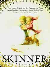 SKINNER EUROPEAN FURNITURE & DECORATIVE ARTS, FINE CERAMICS & ASIAN WORKS OF ART