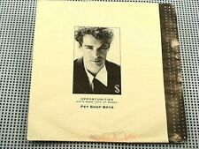 PET SHOP BOYS - Opportunities / In The Night - N/MINT w/ RARE Canada Pic. Sleeve
