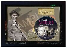 Frank Sinatra New York SIGNED autograph FRAMED PHOTO print CD Disc Perfect gift