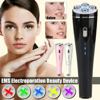 5-Color LED Light Laser RF EMS Therapy Vibration Beauty Facial Machine Skin Care