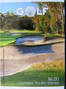 Australian Decimal Stamps: 2011 - Golf Booklet MNH
