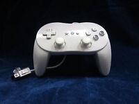 Old Skool Dual Analog Classic Controller Pro for Nintendo Wii / WiiU - White