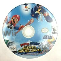 Mario and Sonic Olympic Winter Games Wii Video Game Disc Only *** TESTED ***