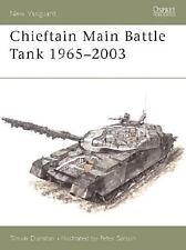 New Vanguard 80: Chieftain Main Battle Tank 1965-2003 (British Armor)