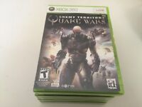Enemy Territory: Quake Wars (Microsoft Xbox 360, 2008) XBOX 360 NEW!
