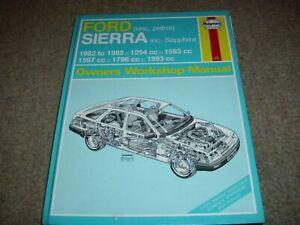 Ford Sierra, Haynes Reparaturanleitung 903, owners workshop manual