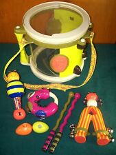 Battat B. Parum Pum Pum Drum & Musical Instruments - Complete - Bee Bop Band