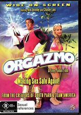 Orgazmo (DVD, 2005) RON JEREMY -TREY PARKER FROM SOUTH PARK MORMON IN PORN MOVIE