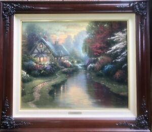 Thomas Kinkade paintings 20x24, Quiet Evening