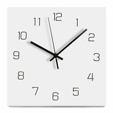 Creative Wood Wall Clock Modern Decorative Hanging Silent Clocks Home Decoration