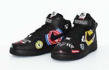 NEW Supreme x Nike NBA Air Force 1 Mid Top Black Size 11