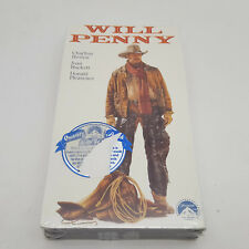 Will Penny (VHS, 1989) Sealed