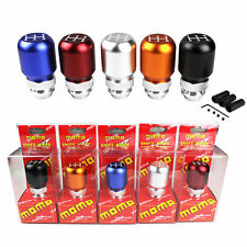 Hot Sell MOMO Racing 5 Speed Universal  Manual Billet Aluminum Gear Shift Knob