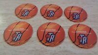 Lot of 6 1990's Toronto Raptors Miller Beer Coasters - The Oar House - NBA