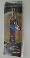 Power Rangers Morphin Time Red & Blue Lanyard with ID Holder Ages 3+