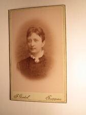 junge Frau - Portrait / CDV F. Gödel Troppau